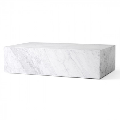Menu Plinth Low Marble Coffee Table