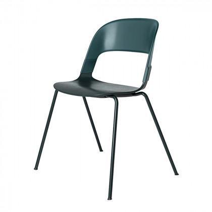 Fritz Hansen Pair BH20 Chair - Powdercoated Base