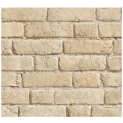 Weathered Mediterranean Sandstone Brick Wallpaper