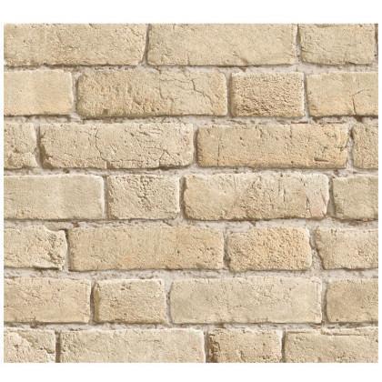 Weathered Mediterranean Sandstone Brick Wallpaper