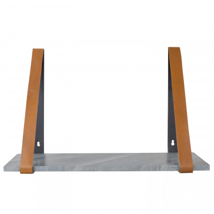 Zuiver Fad Marble and Leather Shelf