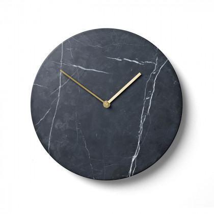 Menu Marble Wall Clock-Black