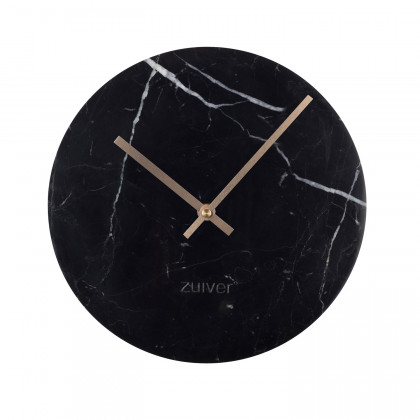 Zuiver Black Marble Wall Clock