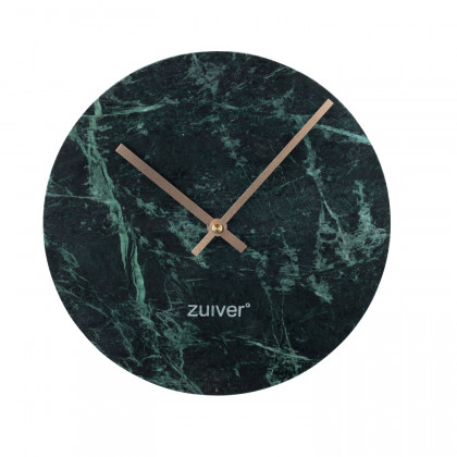 Zuiver Green Marble Wall Clock