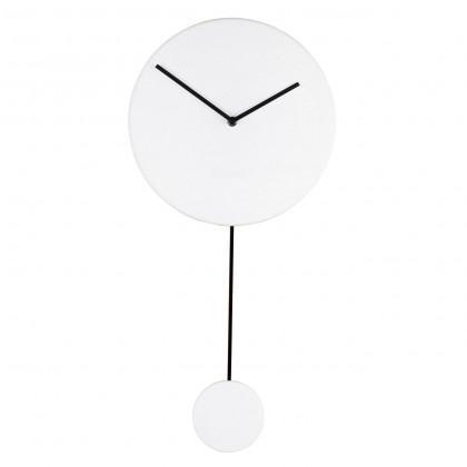 Zuiver Minimal Pendulum Clock - White