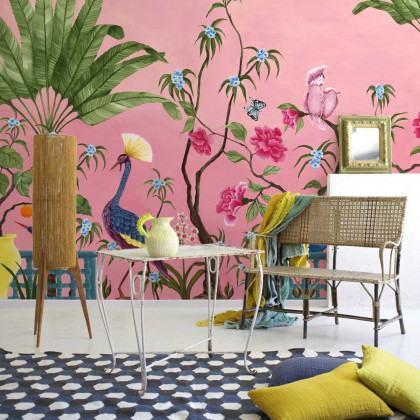 Coordonne Neo-Tea Garden Mural