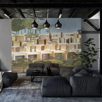Coordonne La Macqueta Mural Wallpaper