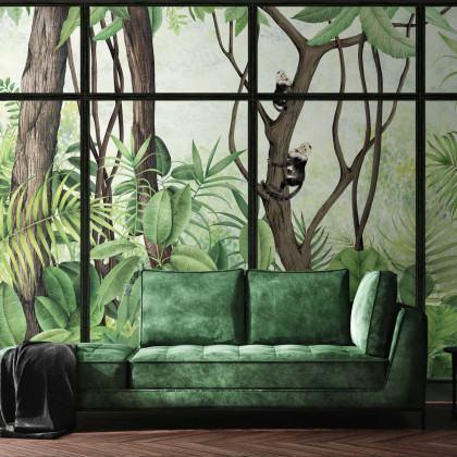 Coordonne Casa De Vidro Mural Wallpaper