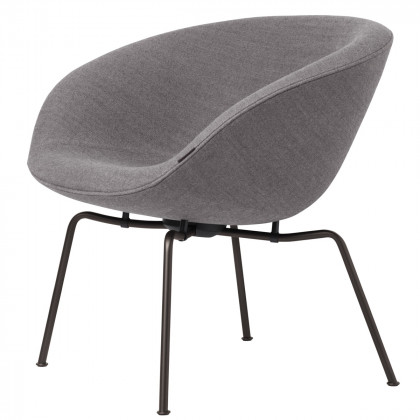 Fritz Hansen Pot Easy Chair, Fabric, Powdercoated