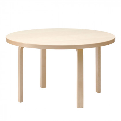 Artek 91 Aalto Round Dining Table