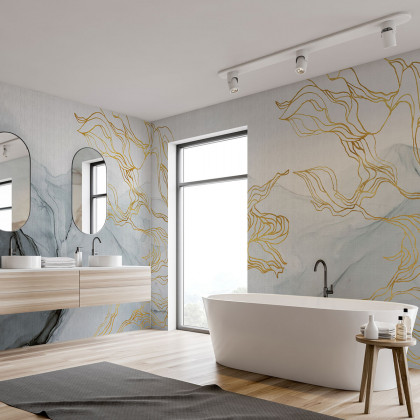 Coordonne Aurora Borealis Mural Wallpaper