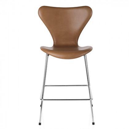 Fritz Hansen Series 7 Fully Upholstered Stool