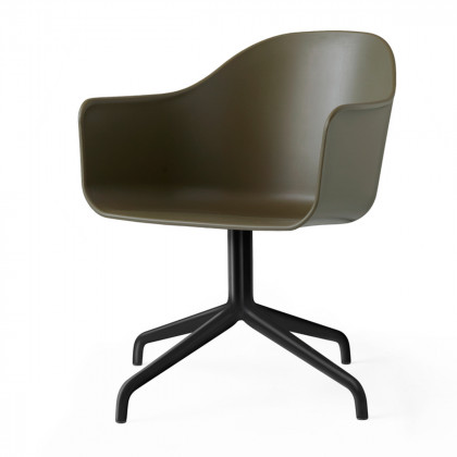 Menu Unupholstered Harbour Swivel Chair
