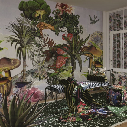 Christian Lacroix Jardin des Reves Panoramic Wallpaper