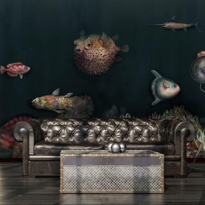 Coordonne Deep Ocean Mural Wallpaper