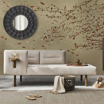Coordonne Eolia Metallics Mural Wallpaper