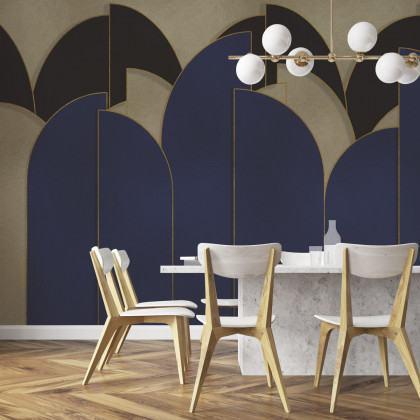 Coordonne Pavilion Metallics Mural Wallpaper