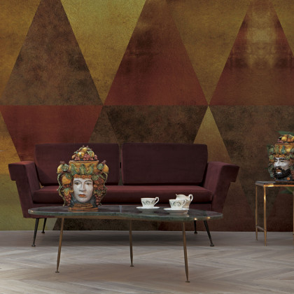 Coordonne Carlo Metallics Mural Wallpaper