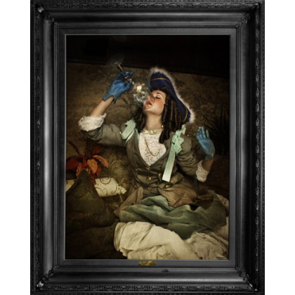 Mineheart Air' - Ornate Framed Canvas Print - Small