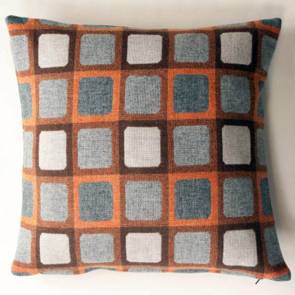 Chalk Wovens Full Squircle Cushion - Orange