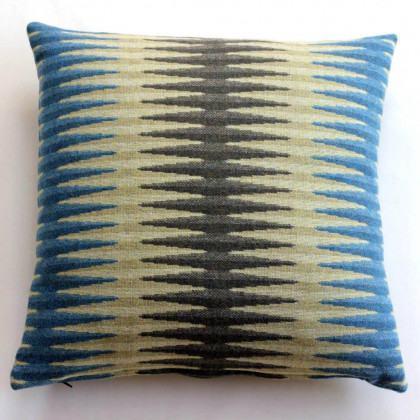 Chalk Wovens Beacon Cushion - Turquoise