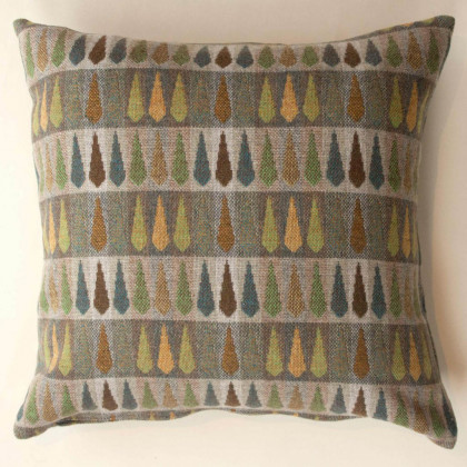 Chalk Wovens Fern Cushion - Multi