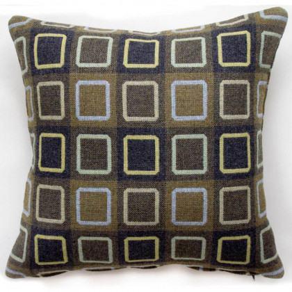 Chalk Wovens Squircle Outline Cushion - Sage