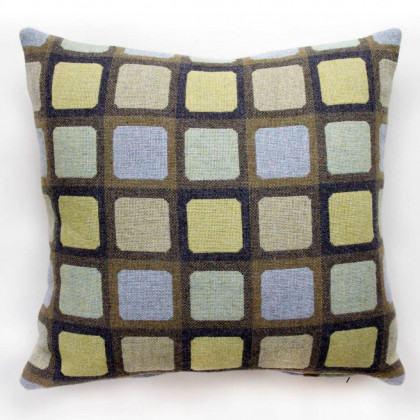 Chalk Wovens Full Squircle Cushion - Sage