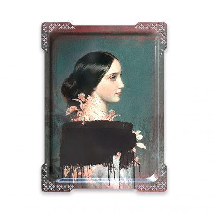 ibride Galerie De Portraits Large Reactangular Tray- IDA 4