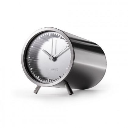 Leff Amsterdam X Piet Hein Eeek Tube Clock - Steel