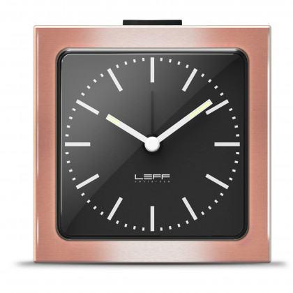 LEFF Amsterdam Block Alarm Clock Bronze - Leff Amsterdam - Padhome