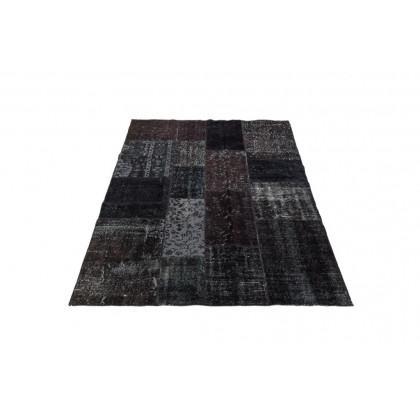 Massimo Rugs 170 x 240 cm Black Vintage Rug - Black - Multi Color