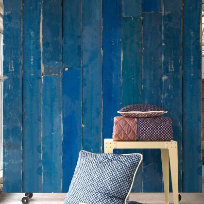 NLXL Materials Wallpaper by Piet Hein Eek - Blue Scrapwood