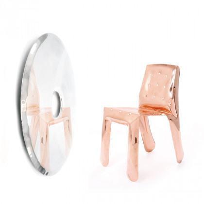 Zieta Rondo 120cm Mirror Inox