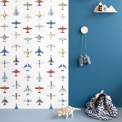Studio Ditte Airplanes Wallpaper
