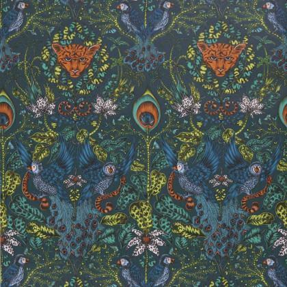Emma J Shipley for Clarke & Clarke Amazon Wallpaper