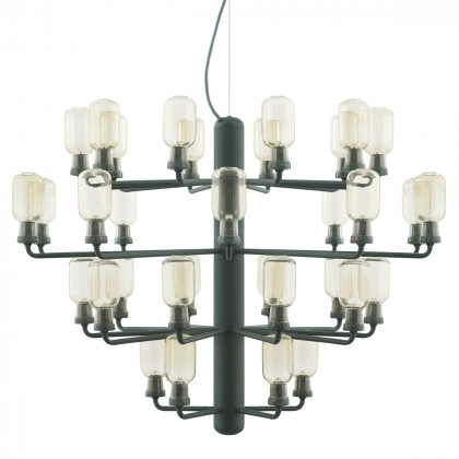 Normann Copenhagen Amp Chandelier Large - Glass