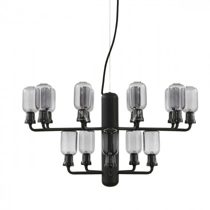 Normann Copenhagen Amp Chandelier Small - Glass