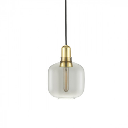 Normann Copenhagen Amp Pendant Lamp Small - Brass / Glass