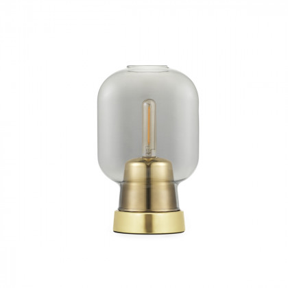 Normann Copenhagen Amp Table Lamp - Brass / Glass