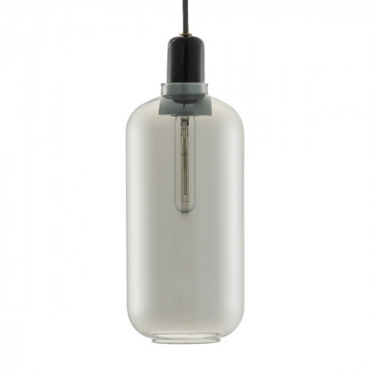 Normann Copenhagen Amp Pendant Lamp Large - Marble / Glass