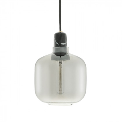 Normann Copenhagen Amp Lamp Small - Marble-Smoke