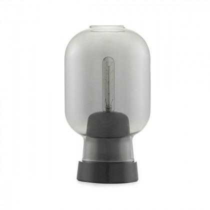 Normann Copenhagen Amp Table Lamp-Smoke