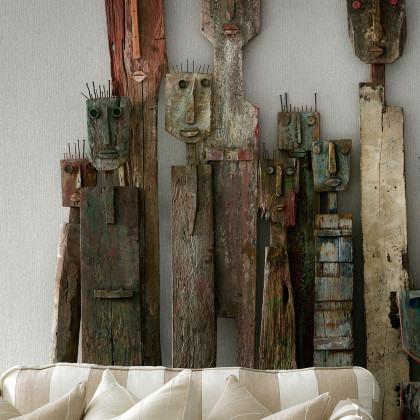 Andrew Martin Museum Grasscloth Wallpaper