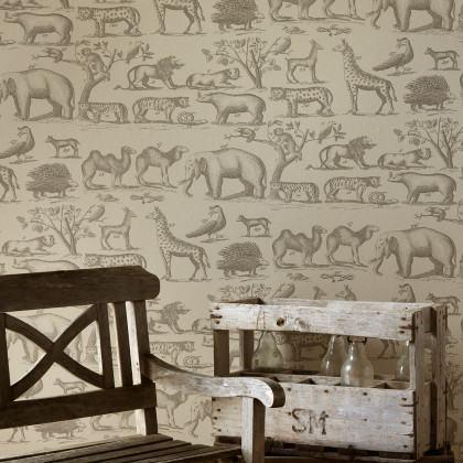 Andrew Martin Museum Ark Wallpaper
