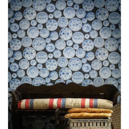 Andrew Martin Museum Cargo China Plate Wallpaper
