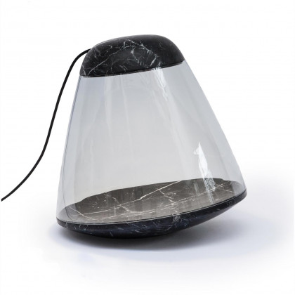 La Chance Apollo Marble Floor Lamp - Black
