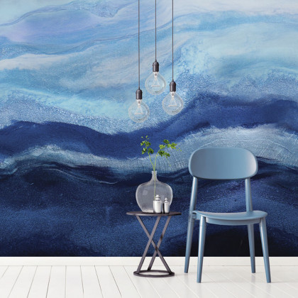 Feathr Arctic Adventure Mural Wallpaper