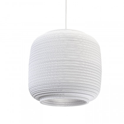 Graypants White Ausi pendant lamp 14 inch