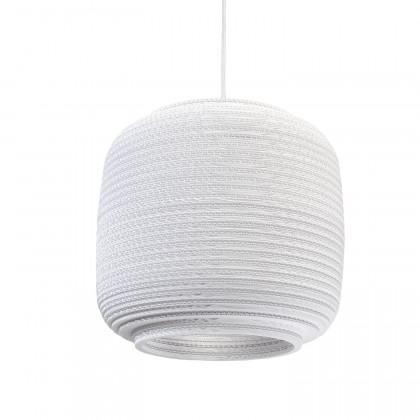 Graypants White Ausi pendant lamp 14 inch